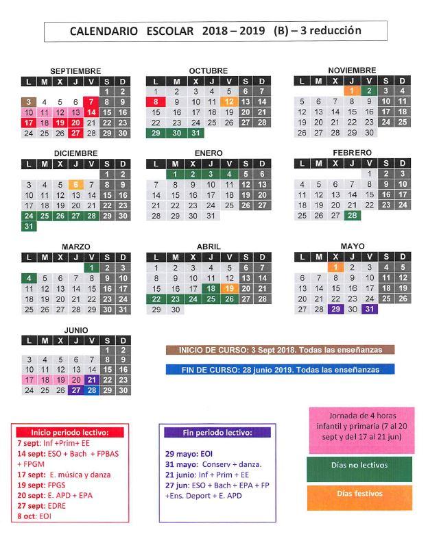 Calendario Escolar 2020 Cantabria.Calendario Escolapios De Villacarriedo Educacion De Calidad En